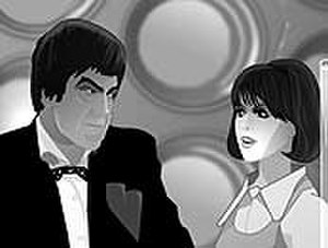 The Invasion (Doctor Who) - A scene from the animated reconstruction of the missing first episode which was included on the 2006 DVD release of the serial.