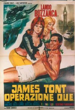 James Tont operazione D.U.E. - Original film poster