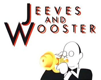 Jeeves and Wooster - The title card of Jeeves and Wooster