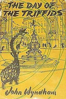 <i>The Day of the Triffids</i> 1951 book by John Wyndham