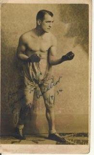 Johnny Cuthbert British boxer