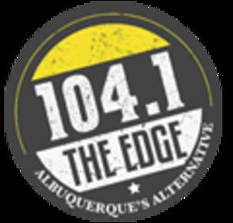 KTEG - Image: KTEG 104.1The Edge logo