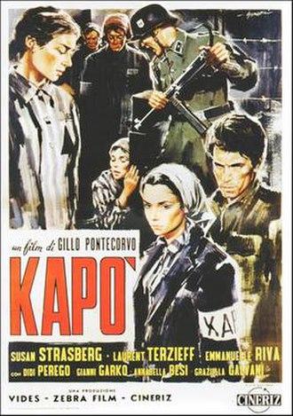 Kapo (1960 film) - Italian film poster
