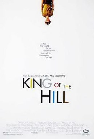 King of the Hill (film) - Theatrical release poster