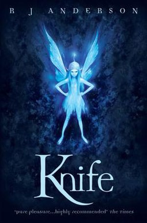 Faery Rebels - Image: Knife book cover Anderson