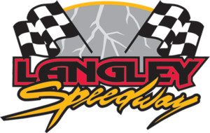 Langley Speedway (Virginia) - Image: Langley Logo 2010 Edited Small