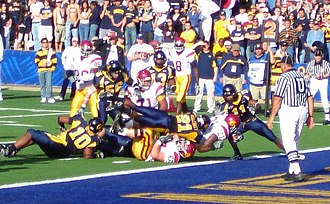 LenDale White - White scoring at California in 2005.