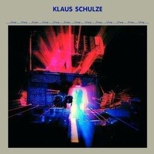 Live (Klaus Schulze album) - Image: Live Klaus Schulze Album