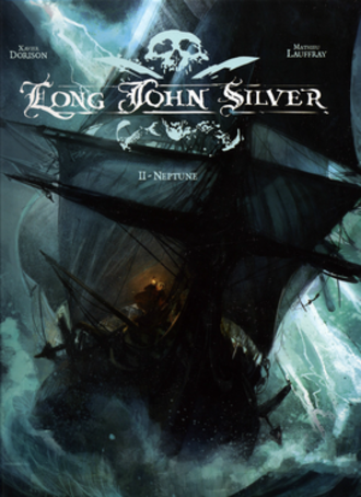 Long John Silver (comics) - Image: Long John Silver Neptune Cover