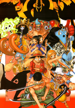 Main characters of One Piece