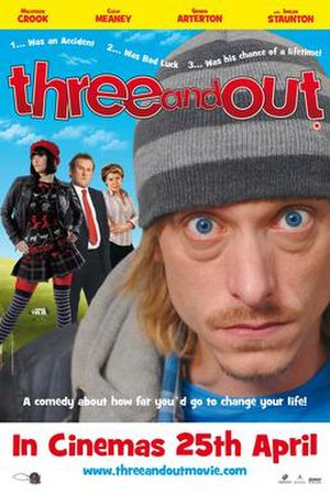 Three and Out - Theatrical poster