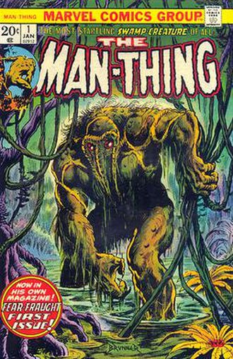 Man-Thing - Image: Man Thing 1 (1974)