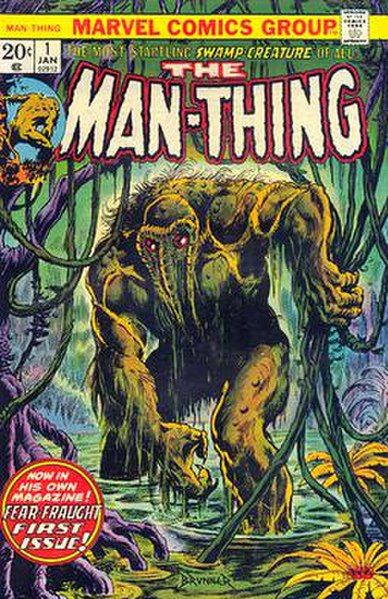 Crossovers you'd like to see 388px-Man-Thing_1_(1974)