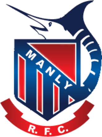 Manly RUFC - Image: Manly RUFC logo