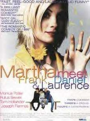 Martha, Meet Frank, Daniel and Laurence - Promotional poster