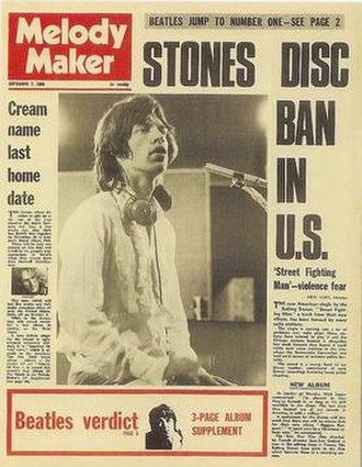 Melody Maker - Melody Maker (7 September 1968 issue)