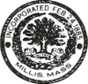 Official seal of Millis, Massachusetts