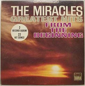 Greatest Hits: From the Beginning (The Miracles album) - Image: Miracles greatesthits 1965