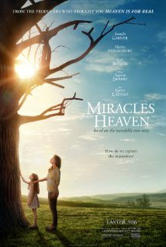 Miracles from Heaven (film) - Theatrical release poster