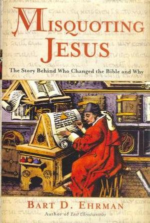 Misquoting Jesus - Image: Misquoting Jesus