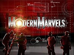 Modern Marvels - Title card since 2007
