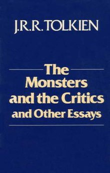 Proposal Essay Outline Monsters Tolkienjpg Essay About Healthy Diet also Thesis Statement For Persuasive Essay The Monsters And The Critics And Other Essays  Wikipedia English As A World Language Essay