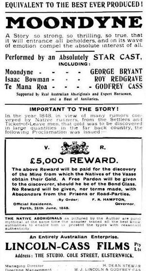 Moondyne - Advertisement for film
