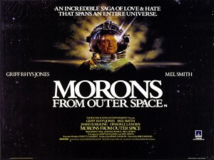 Morons from Outer Space - Theatrical release poster