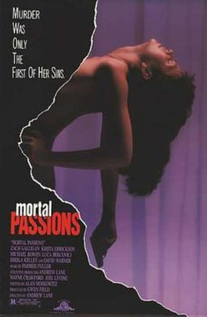 Mortal Passions - Theatrical release poster