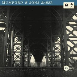 Babel (song) - Image: Mumford & Sons Babel