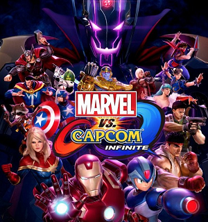 Marvel vs. Capcom: Infinite - Image: Mv CI Cover