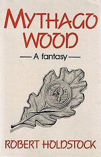 <i>Mythago Wood</i> book by Robert Holdstock