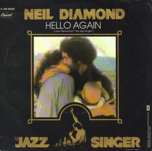 Hello Again (Neil Diamond song) - Image: Neil Diamond Hello Again