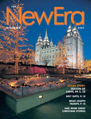Mormon art - The New Era, a youth magazine of the LDS Church
