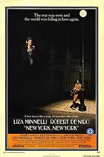 <i>New York, New York</i> (1977 film) 1977 American musical-drama film directed by Martin Scorsese