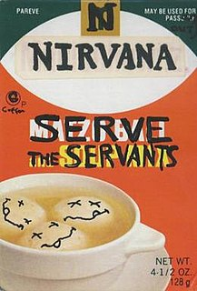 Serve the Servants 1993 song by Nirvana