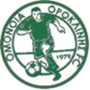 Alki Oroklini - The logo of Omonia Oroklini.