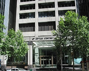 Optus Centre - Optus Centre - view at street level