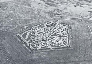 Camp Carroll - An overhead shot of Camp Carroll