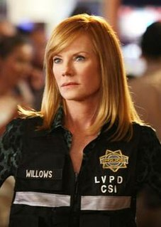 Catherine Willows Fictional character on American television series CSI: Crime Scene Investigation