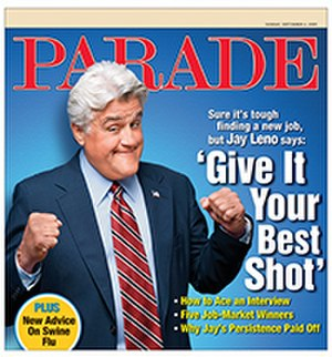 Sunday magazine - September 6, 2009 issue of Parade