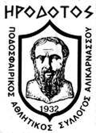 P.A.S.A. Irodotos F.C. - Club older crest.