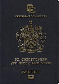 Saint Kitts and Nevis passport passport