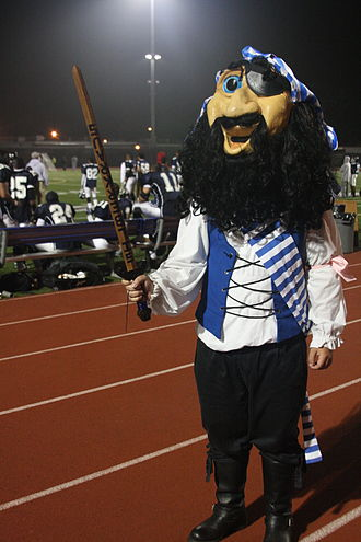 Santa Monica College - Pico the Corsair at Homecoming 2010