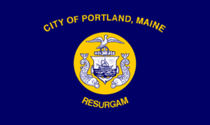 Flag of Portland, Maine