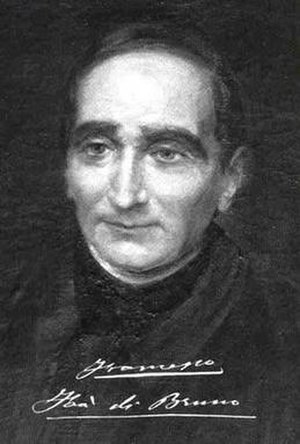 Francesco Faà di Bruno - Image: Portrait of Francesco Faà di Bruno as a priest