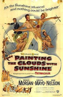Poster of Painting the Clouds with Sunshine.jpg