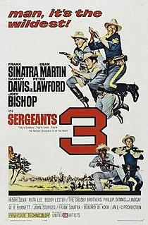 <i>Sergeants 3</i> 1962 film by John Sturges