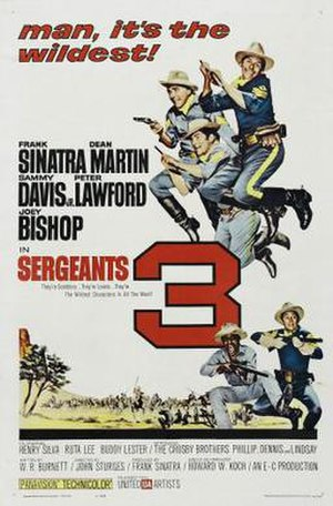 Sergeants 3 - Image: Poster of the movie Sergeants 3