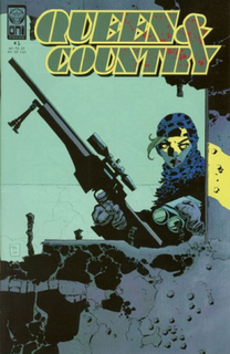 <i>Queen & Country</i> British comic book published by Oni Press